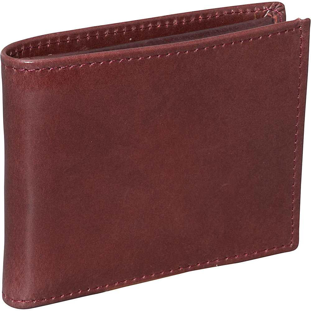 Dopp Verona Convertible Thinfold Wallet - Burgundy - Work Bags & Briefcases, Men's Wallets