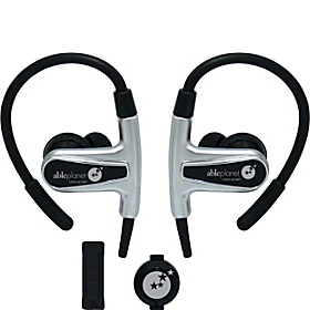Sound Clarity Sport Earphones Black Chrome