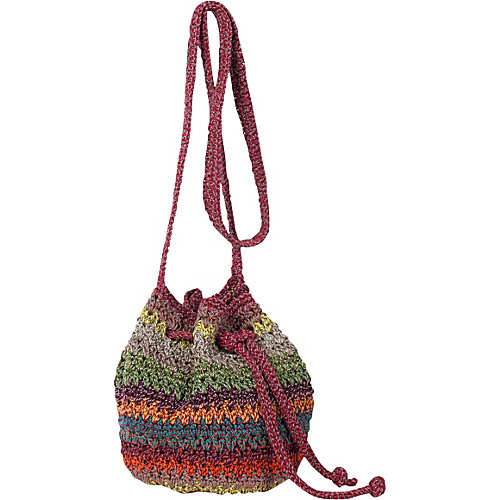 The Sak Classic Minis Mini Drawstring Gypsy Stripe - The Sak Fabric Handbags