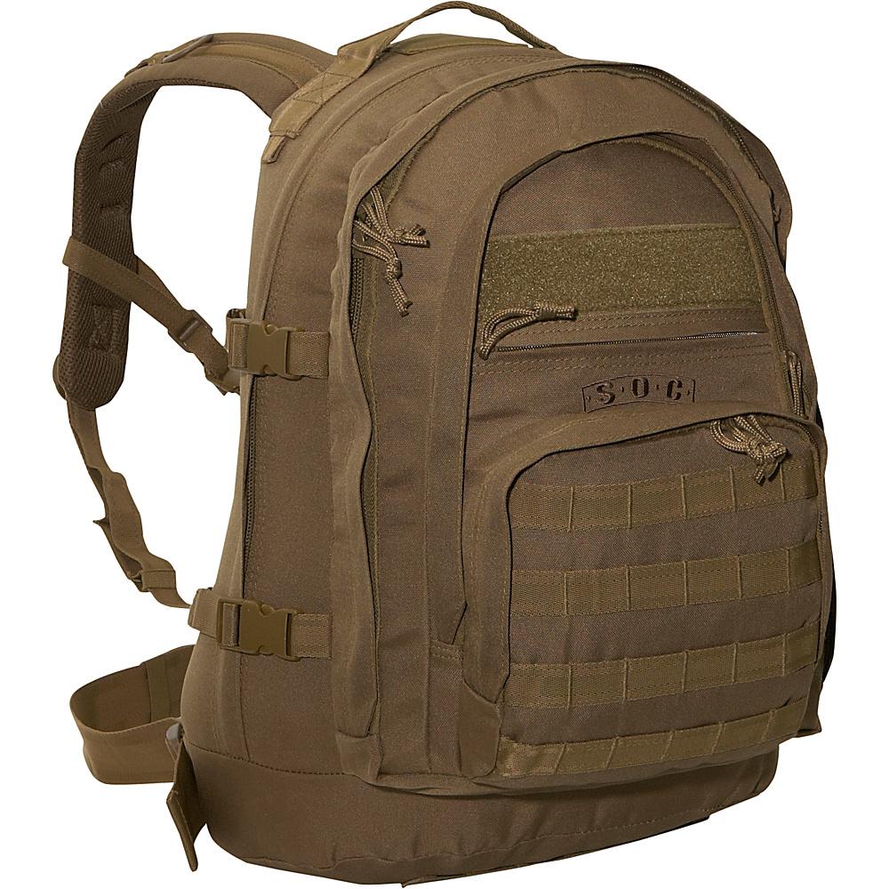 SOC Gear Elite Three Day - Coyote Brown, Coyote Tan - Backpacks, Business & Laptop Backpacks