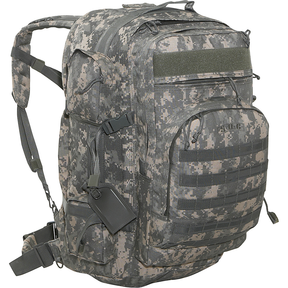SOC Gear Long Range - 1000 Denier Cordura - Army - Backpacks, Everyday Backpacks