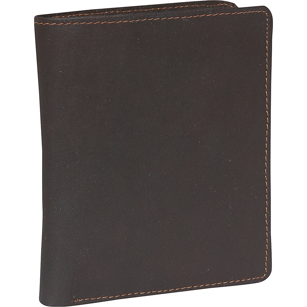 Derek Alexander Billfold show card - Brown - Work Bags & Briefcases, Men's Wallets