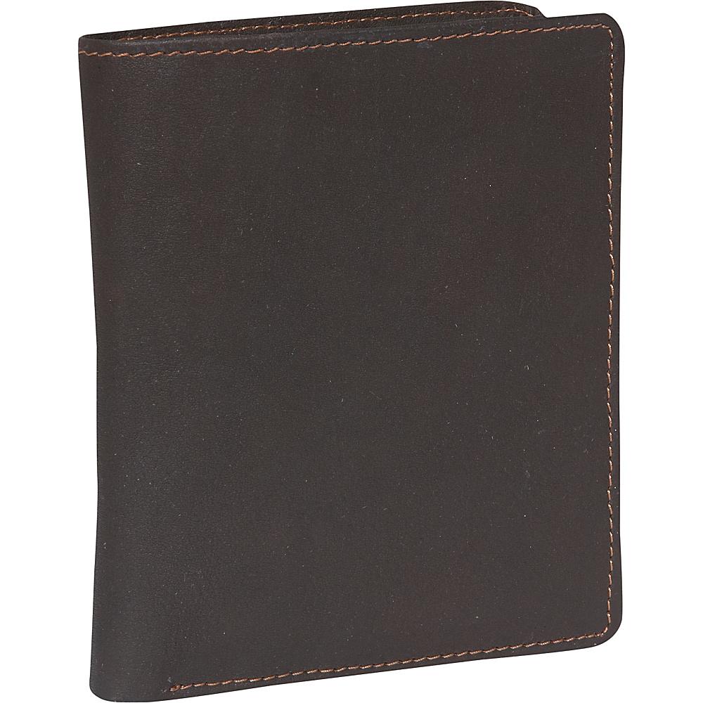 Derek Alexander Billfold show card - Brown - Work Bags & Briefcases, Men's Wallets