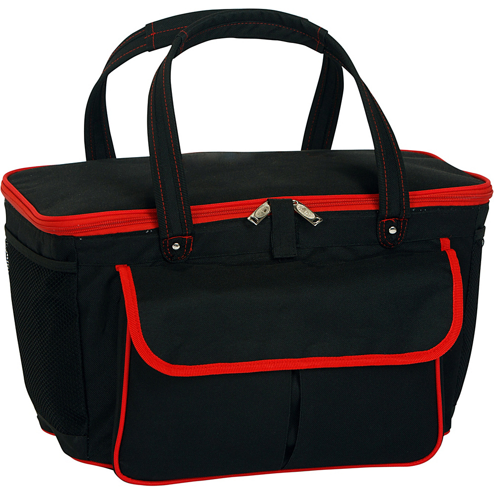 Picnic Plus Avanti Picnic Cooler - Black/Red - Outdoor, Outdoor Coolers