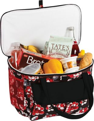 Picnic Plus Avanti Picnic Cooler Red Carnation - Picnic Plus Outdoor Coolers
