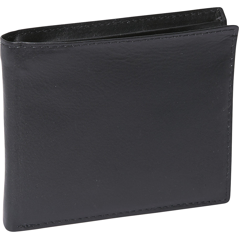 Buxton Houston Credit Card Billfold - RFID - Black - Work Bags & Briefcases, Men's Wallets