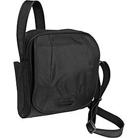 Metrosafe 200 GII Anti-Theft Shoulder Bag Black