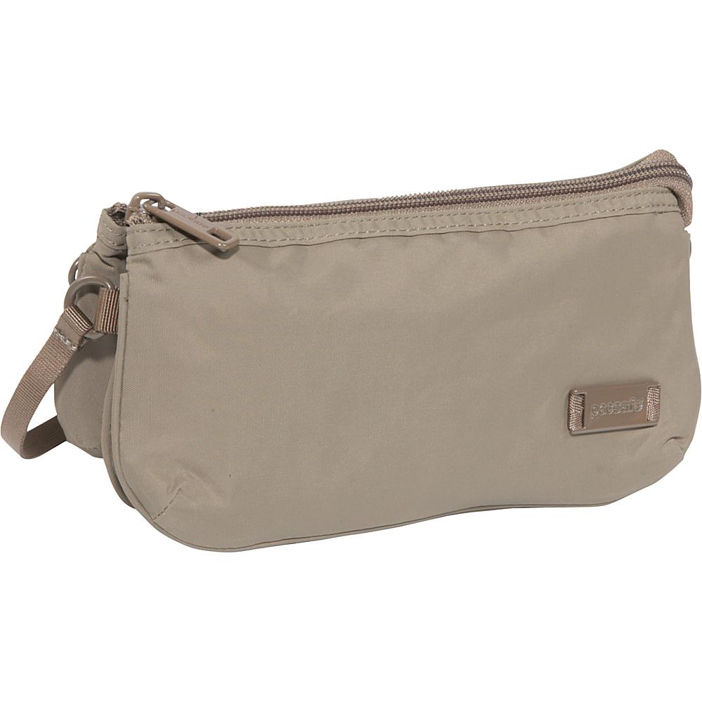 Pacsafe Citysafe 75 GII Anti-Theft Purse Walnut - Pacsafe Fabric Handbags