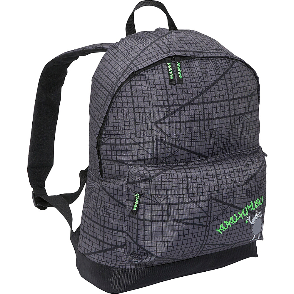 Miquelrius Kukuxumusu Laukis Knapsack - Grey - Backpacks, Everyday Backpacks