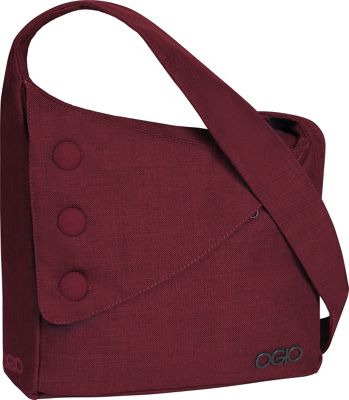 OGIO OGIO Brooklyn Shoulder Bag Wine - OGIO Messenger Bags