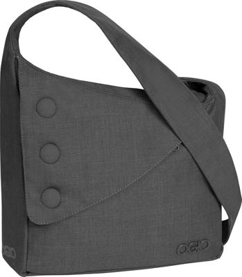 OGIO OGIO Brooklyn Shoulder Bag Gray - OGIO Messenger Bags