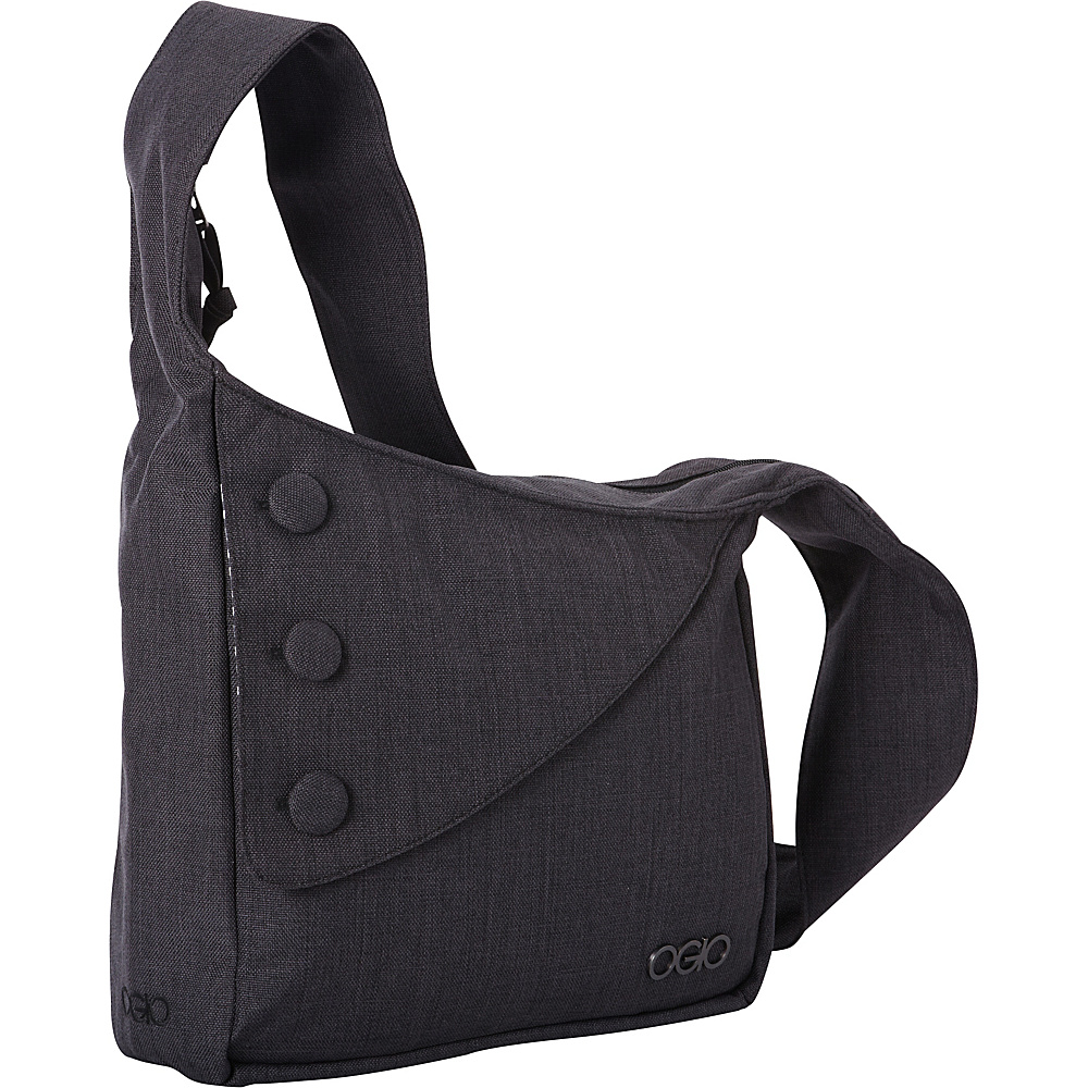 OGIO Brooklyn Shoulder Bag Black OGIO Messenger Bags