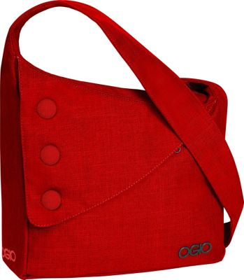 OGIO Brooklyn Shoulder Bag Red - OGIO Messenger Bags