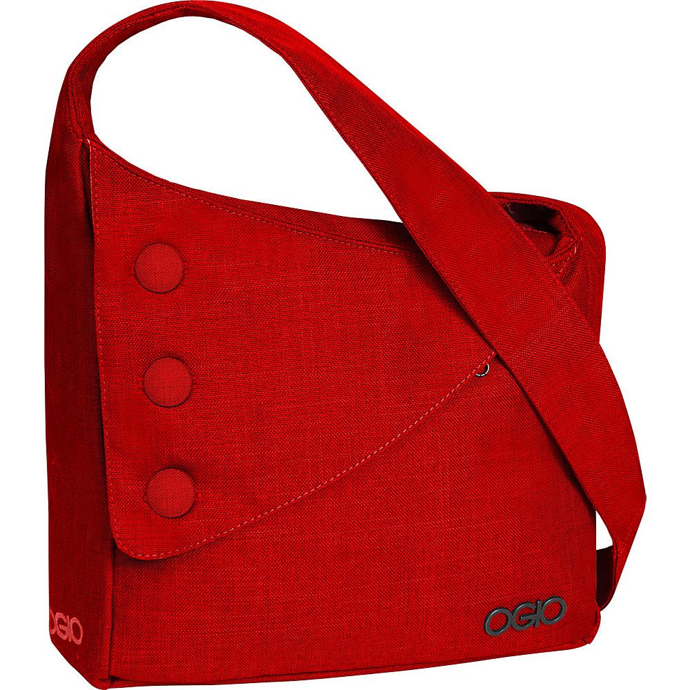 OGIO Brooklyn Shoulder Bag Red - OGIO Messenger Bags