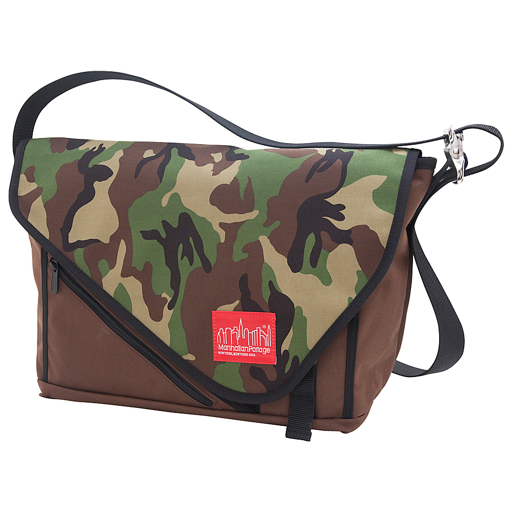 Manhattan Portage Flat Iron Laptop Messenger (MD) - Work Bags & Briefcases, Messenger Bags