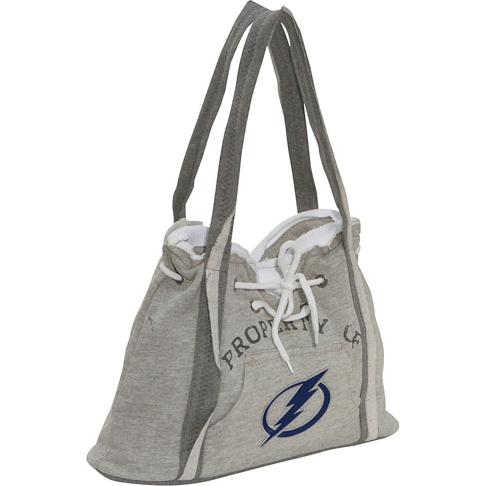Littlearth NHL Hoodie Purse Grey/Tampa Bay Lightning Tampa Bay Lightning - Littlearth Fabric Handbags - Handbags, Fabric Handbags