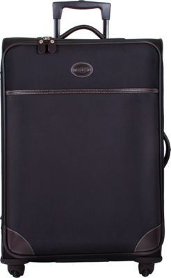 BRIC'S Pronto 30 inch Spinner Black - BRIC'S Softside Checked