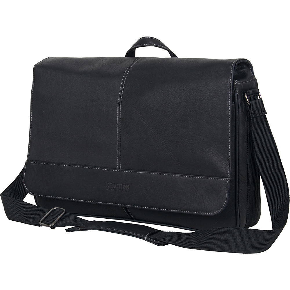 Kenneth Cole Reaction Come Bag Soon Colombian Leather - Work Bags & Briefcases, Messenger Bags