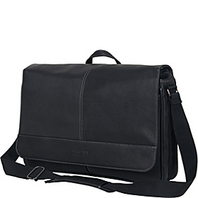 Come Bag Soon - Colombian Leather Laptop & iPad Messenger - eBags Exclusive Black