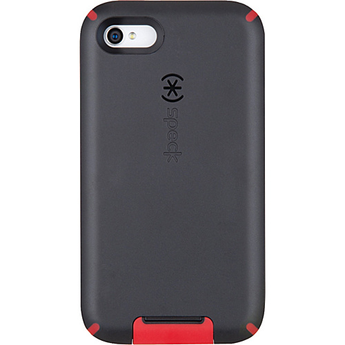 Speck iPhone 4S Candyshell View Case - Black/Pomodoro