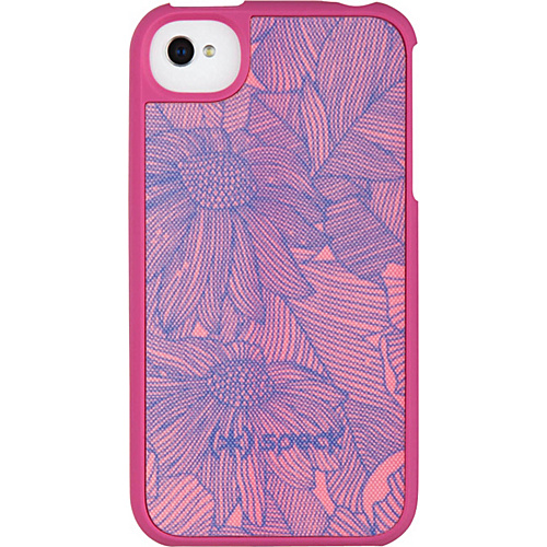Speck iPhone 4S Fitted Case Freshbloom Pink - Speck Personal Electronic Cases