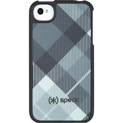Speck iPhone 4S Fitted Case - Megaplaid Black
