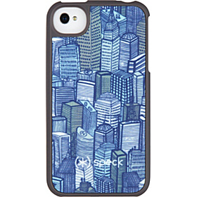 iPhone 4S Fitted Case  Citylife Gray