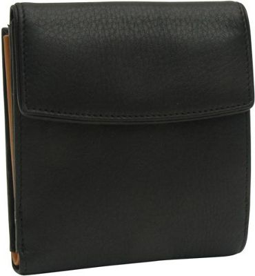 TUSK LTD Donington Gold L Shaped Indexer Wallet Black - TUSK LTD Women's Wallets