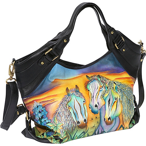 Anuschka Medium Shopper - Wild Mustang Wild Mustang - Anuschka Leather Handbags