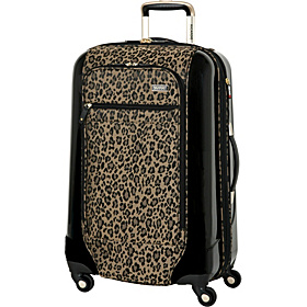 Crystal City 24'' Exp. Spinner Upright Golden Leopard