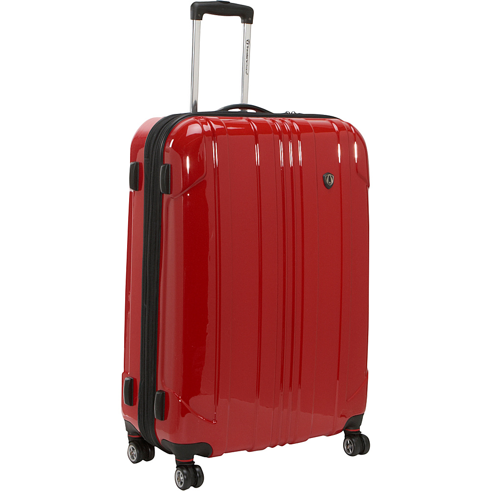 Travelers Choice Sedona 29 in. Hardside Spinner - Red - Luggage, Hardside Checked