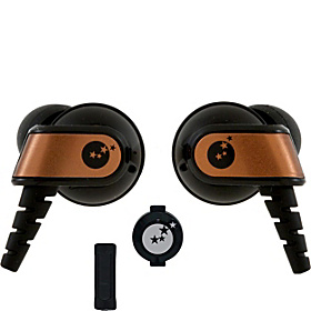 Sound Clarity Sound Isolation Earphones Copper & Black