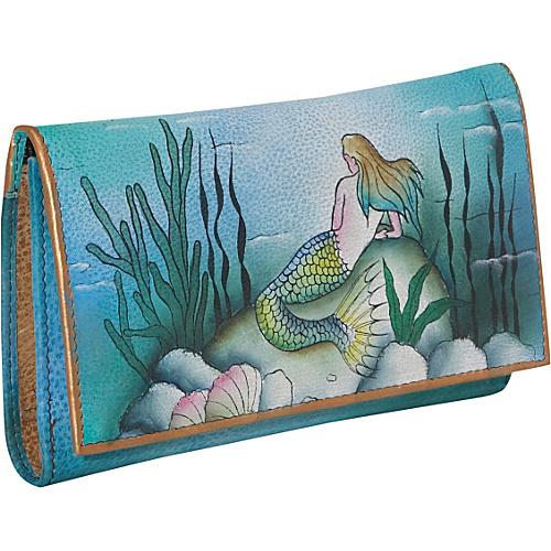 Anuschka Checkbook Wallet - Little Mermaid - Little