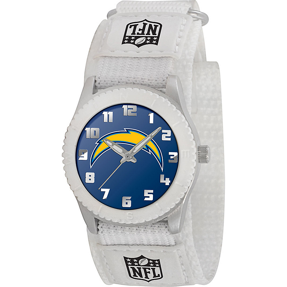 Game Time Rookie White NFL San Diego Chargers Black Game Time Watches
