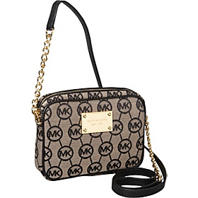 Jet Set Crossbody - Monogram Jaquard BG/BL/Black