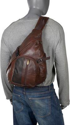 AmeriLeather APC Leather Cross Body Sling Bag 2 Colors