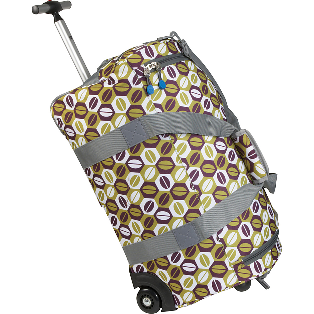 J World Tamarak 22 Rolling Duffel - Coffee - Luggage, Kids' Luggage