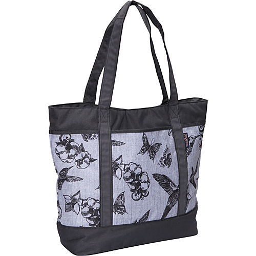 Grey/Black Botanical - $39.90