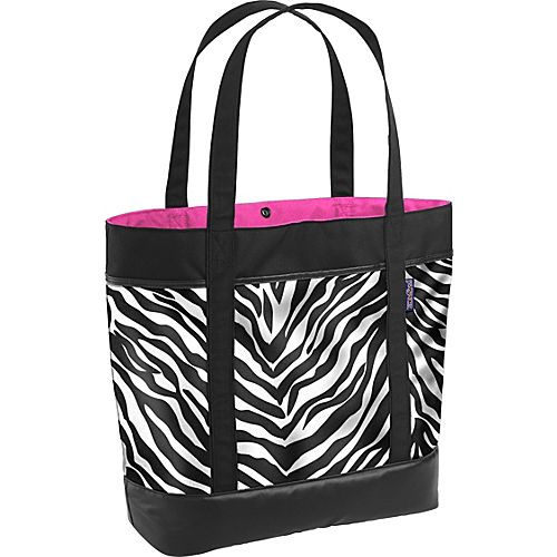 Black/White/Fluorscent Pink Miss Zebra - $24.99