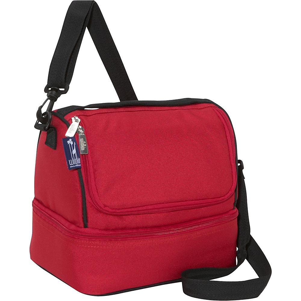 Wildkin Cardinal Red Double Decker Lunch Bag - Cardinal - Travel Accessories, Travel Coolers
