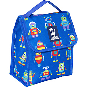 Olive Kids Robots Munch 'n Lunch Bag Olive Kids Robots