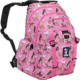Horses in Pink Serious Backpack Horses in Pink