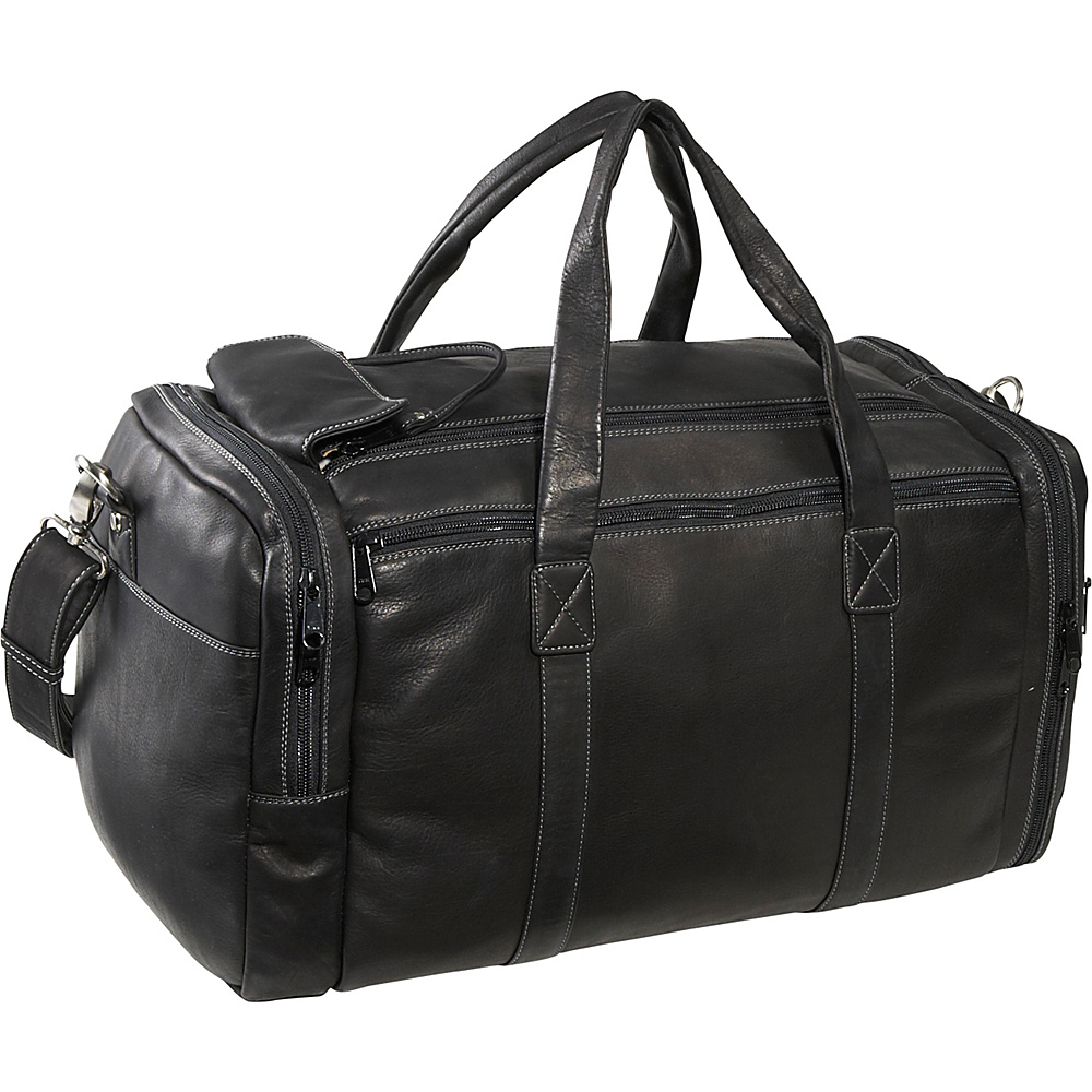 Derek Alexander Sports Duffle - Black - Duffels, Travel Duffels