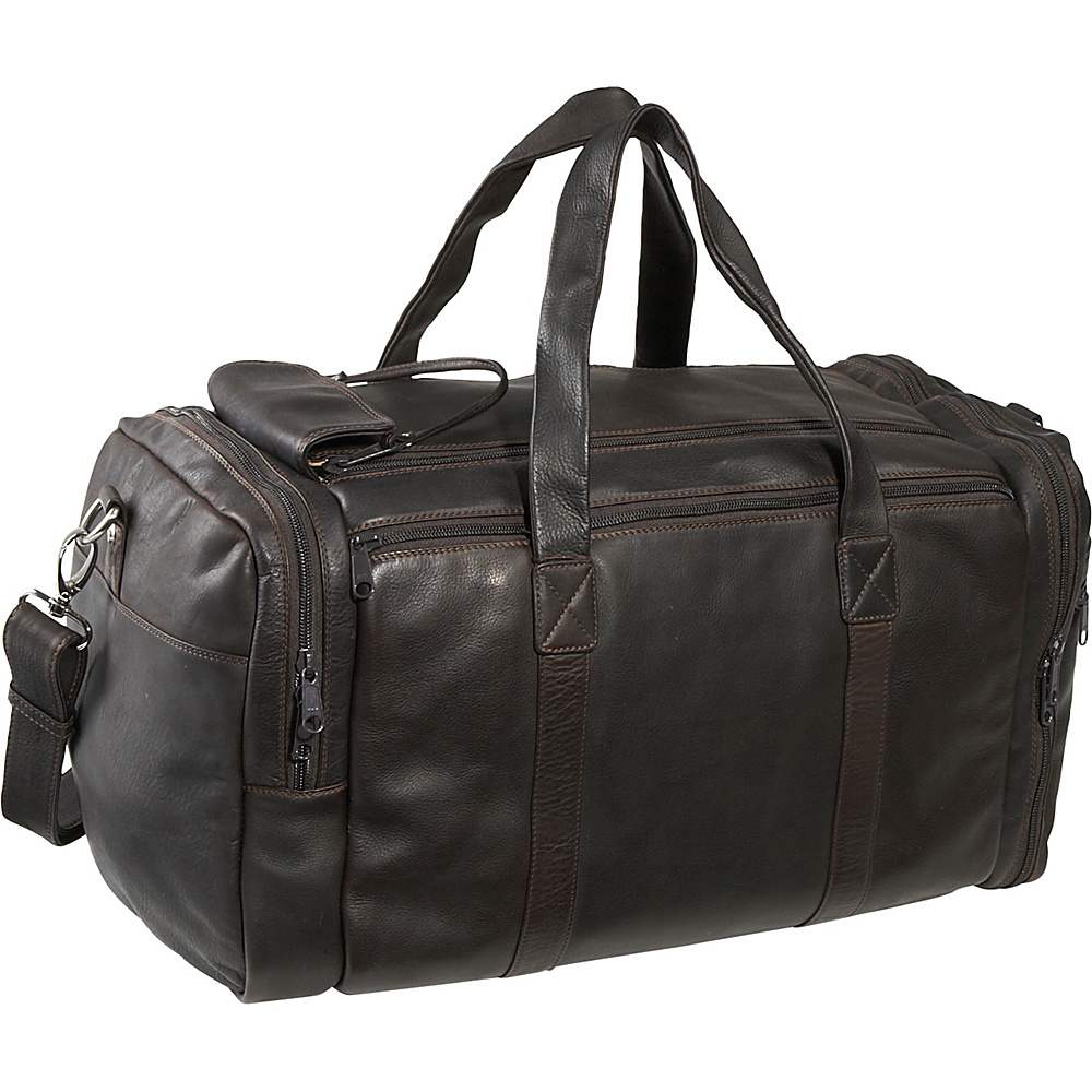 Derek Alexander Sports Duffle - Brown - Duffels, Travel Duffels