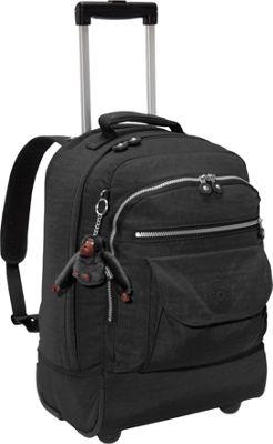 Kipling Sanaa Rolling Backpack Black - Kipling Rolling Backpacks