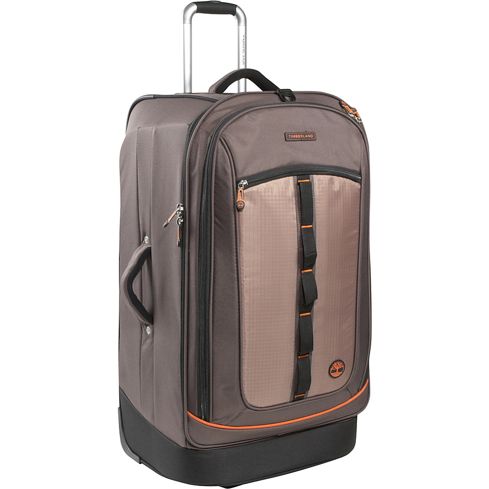 "Timberland Jay Peak 30"" Rolling Upright Cocoa - Timberland Large Rolling Luggage"