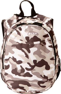 Obersee Kids Pre-School Camo Backpack with Integrated Lunch Cooler Camo - Obersee Everyday Backpacks