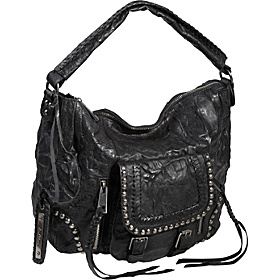 Vintage Biker Perry Hobo Black