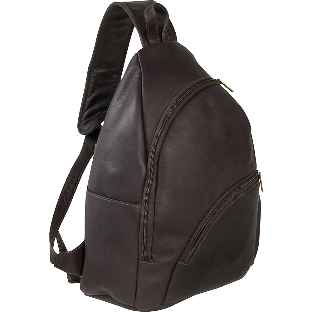 Le Donne Leather Unisex Sling Pack - Caf - Handbags, Manmade Handbags