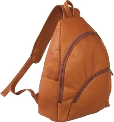 Le Donne Leather Unisex Sling Pack - Tan